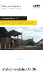 Station mobile Lafon