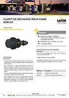 Vannes et clapets lafon technologies - Clapet anti siphon fonctionnement ...